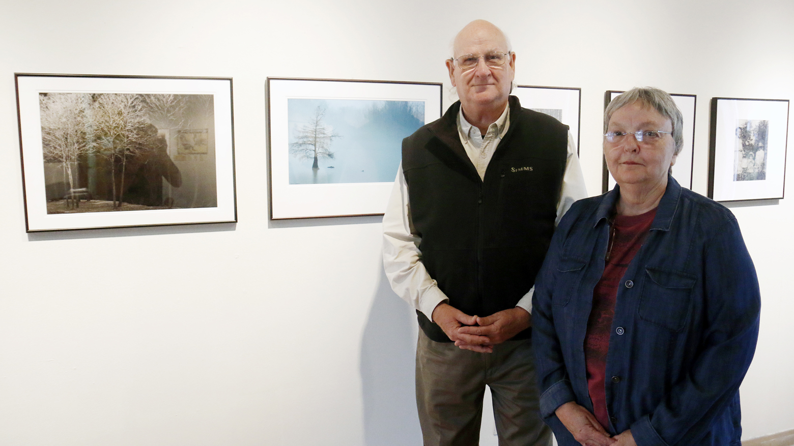 David and Sarah Dodson at SAU Brinson Art Gallery