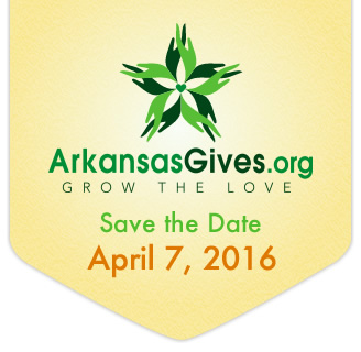 Arkansas Gives Save the Date Button